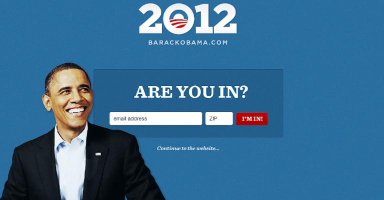 Campagna online di Obama nel 2012. Tutto quello che c'è da sapere