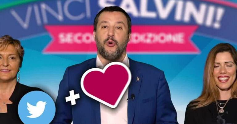 Come Salvini vince sui social