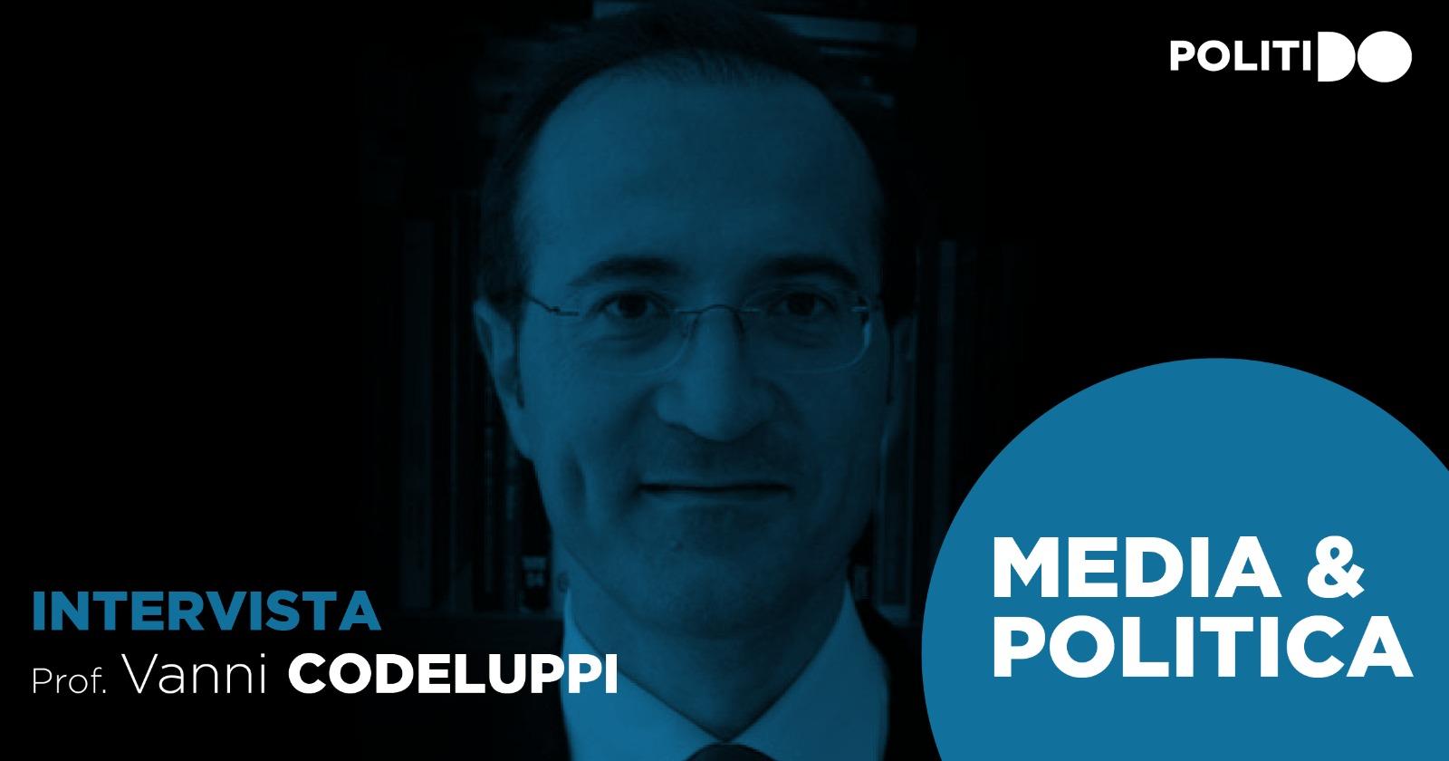 Comunicazione e Politica, intervista al Professore Vanni Codeluppi